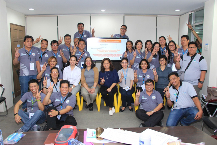 Bocaue Mayor and Department Heads with SGS Auditors